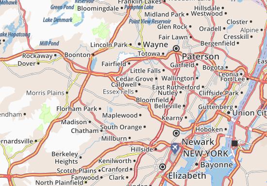 Roseland Map