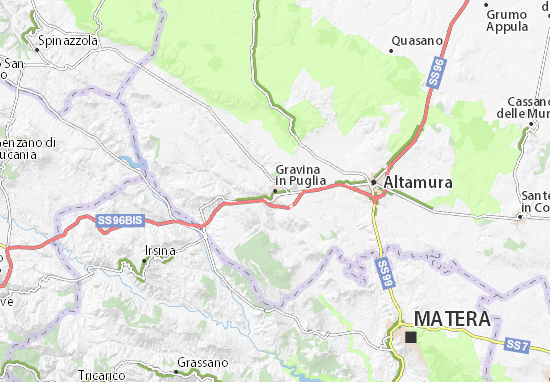 Mappe-Piantine Gravina in Puglia