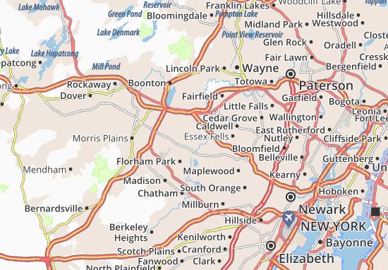 East Hanover Map