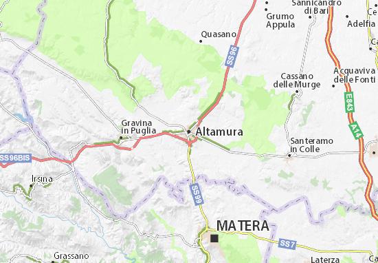 Mapas-Planos Altamura