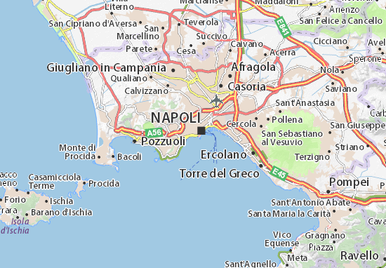Carte-Plan Napoli