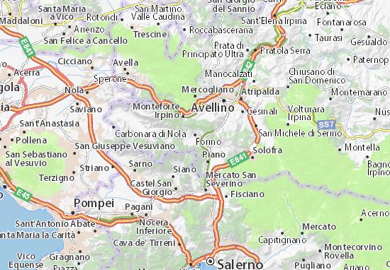Mapas-Planos Forino