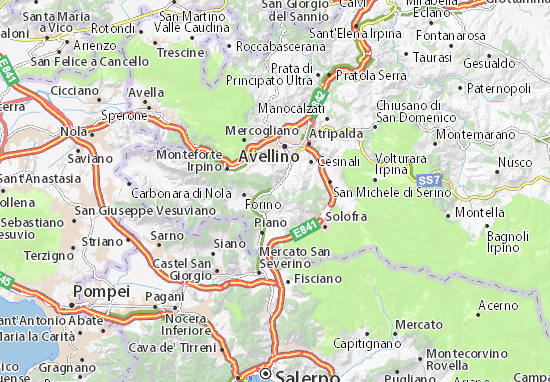 Mappe-Piantine Contrada