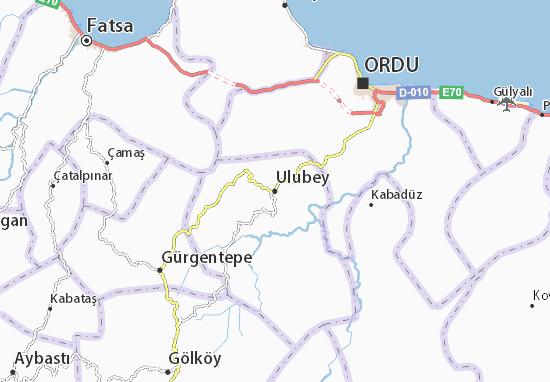 Mappe-Piantine Ulubey
