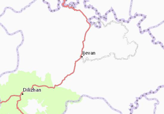 Ijevan Map