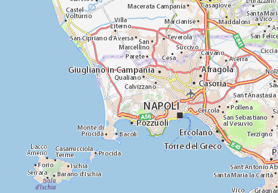 Quarto Di Monte.Quarto Map Detailed Maps For The City Of Quarto Viamichelin