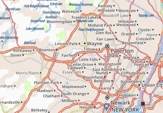 Fairfield Map