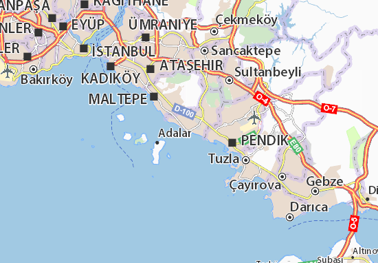 Kartal Map: Detailed maps for the city of Kartal - ViaMichelin
