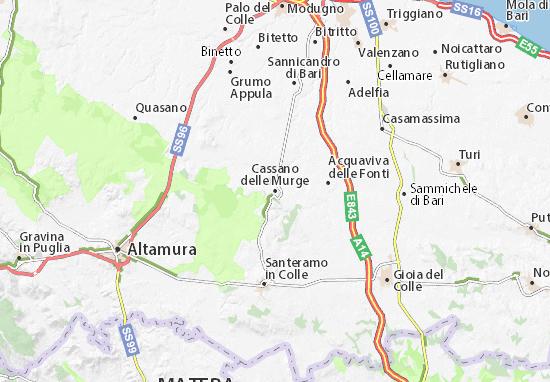Mappe-Piantine Cassano delle Murge