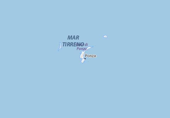 Ponza Map