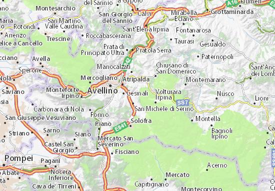 Mapas-Planos Santo Stefano del Sole