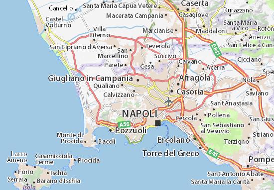 Quartieri Di Napoli Cartina.Mappa Michelin Marano Di Napoli Pinatina Di Marano Di Napoli Viamichelin