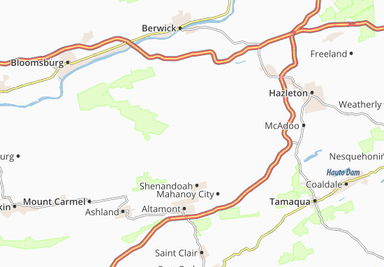 Zion Grove Map