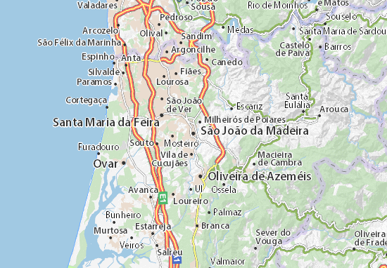 São João da Madeira Map: Detailed maps for the city of São ... on bermuda map, jamaica map, lisbon map, casiquiare canal map, mauritius map, vila franca do campo map, australia map, mayotte map, uzbekistan map, bussaco map, broadview heights map, taiwan map, portugal map, rheinhessen map, algarve region map, mt lookout map, lake titicaca map, west indies map, slovenia map, canary islands map,