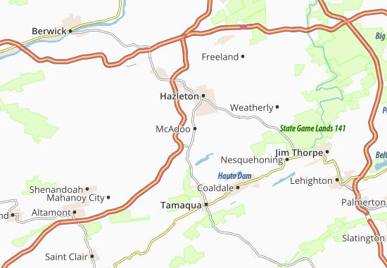 McAdoo Map