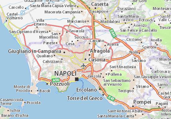 Mappe-Piantine Casoria