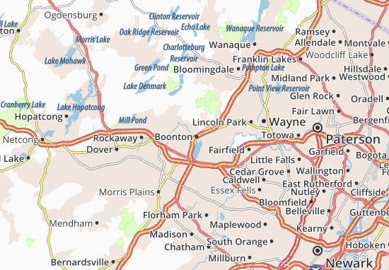 Boonton Map
