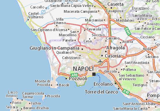 Mappe-Piantine Calvizzano