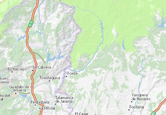 Mapa valdepe as de la sierra plano valdepe as de la - Plano de valdepenas ...