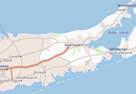 Calverton Map