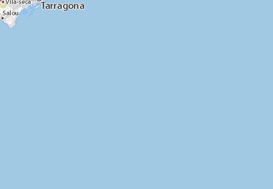 Carte détaillée Costa Dorada - plan Costa Dorada - ViaMichelin