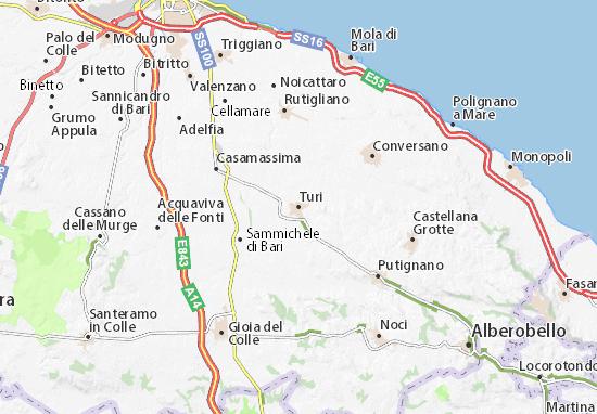 Mappe-Piantine Turi