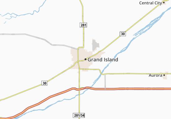 Mappe-Piantine Grand Island