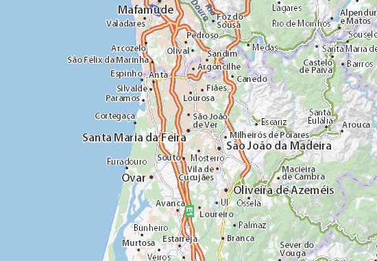 Mapas-Planos Santa Maria da Feira