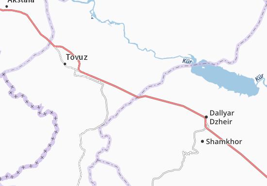 Kaart Plattegrond Ashagy-ayyply