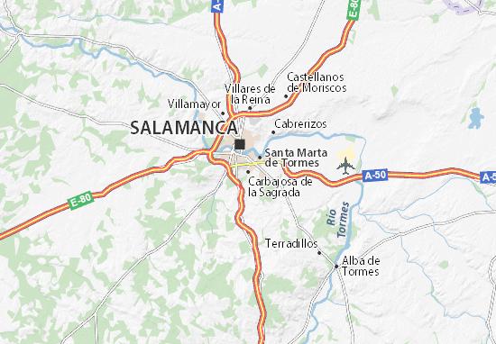 Mapas-Planos Carbajosa de la Sagrada