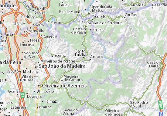 Mapa Plano Santa Eulália