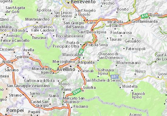 Mappe-Piantine Manocalzati