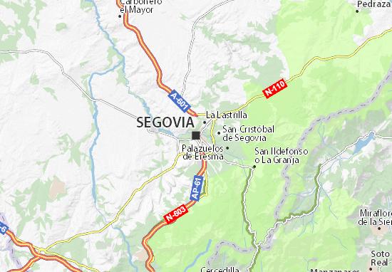 Mapas-Planos Segovia