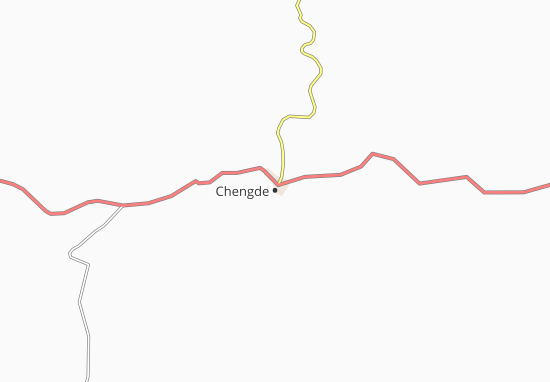 Map Of Chengde Michelin Chengde Map ViaMichelin - Chengde map