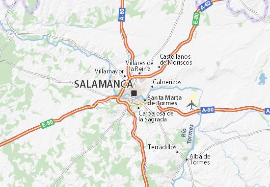 Mapas-Planos Salamanca