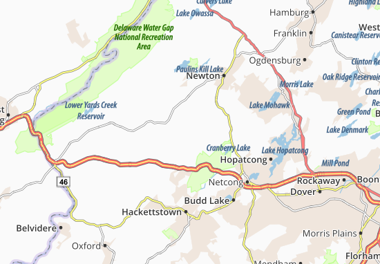 Greendell Map