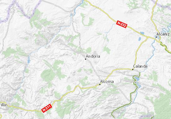 Mapas-Planos Andorra