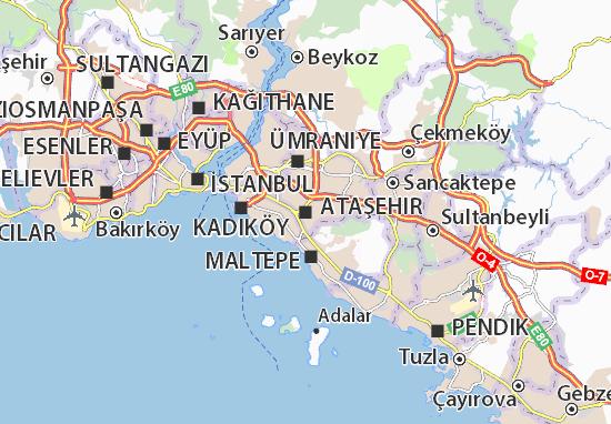 Mapas-Planos Ataşehir