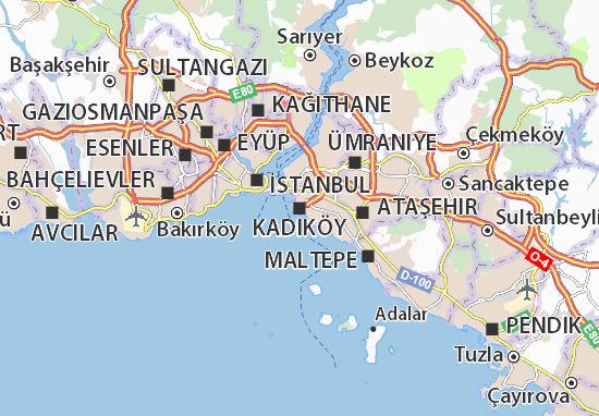 Mappe-Piantine Kadıköy