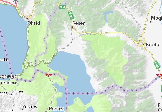 Karte Stadtplan Asamati