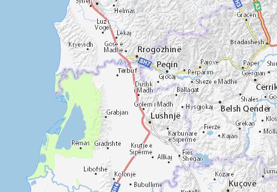 Mappe-Piantine Dushk i Madh