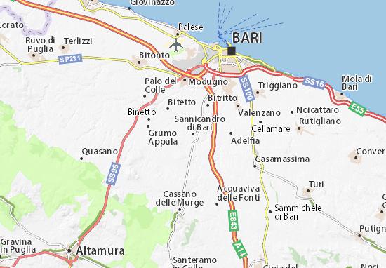 Mappe-Piantine Sannicandro di Bari