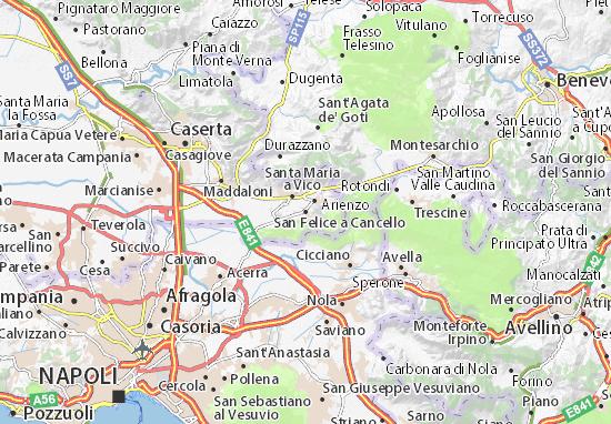 Mappe-Piantine San Felice a Cancello