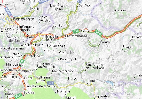 Mappe-Piantine Frigento