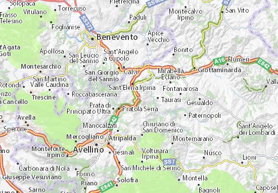 Mappe-Piantine Montemiletto