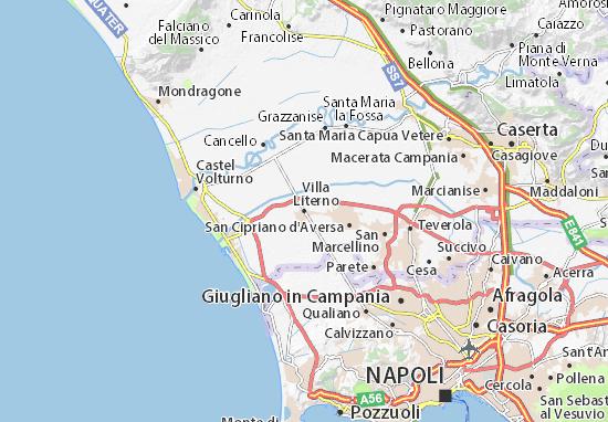 Mappe-Piantine Villa Literno