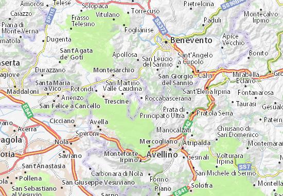 Mappe-Piantine Roccabascerana