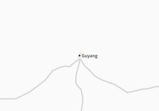 Guyang Map