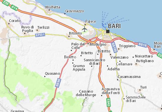 Mappe-Piantine Bitetto