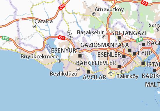 Esenyurt Map